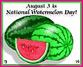 It's Watermelon Day!