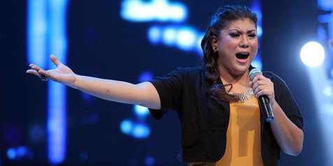 Regina Siap Me-'Mantra'-i INDONESIAN IDOL